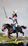 54mm-Colonel-of-Cuirassiers-plastic-horse-resin-rider