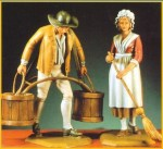 54mm-Water-carrier-and-Servant-Girl