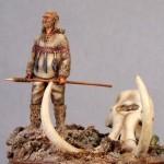 54mm-Magdalenian-hunter-tete-de-mammouth