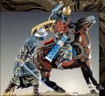 54mm-Mounted-Mongol-Fighting-Dismounted-Byzantine-Knight