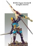 54mm-Central-Italian-Knight-with-Flag-1340-1350