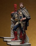 75mm-Captain-of-the-Horse-Artillery-France-1815-with-the-groundwork-included
