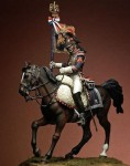 75mm-Eagle-Bearer-1st-rgt-Cuirassiers-France-1815
