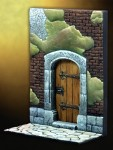 54mm-Medieval-House-Door