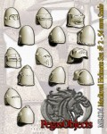54mm-Medieval-Helmets-Set--2-7-pieces