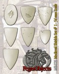 54mm-Medieval-Shields-Set--1-7-pieces