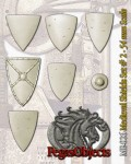 54mm-Medieval-Shields-Set--2-7-pieces