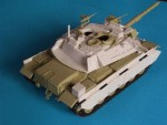 RARE-1-35-MAGACH-7-conversion-set-new-turret-armour-plates-equipment-boxes-for-Academy-M60-POSLEDNI-KUS