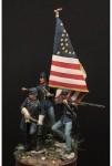 54mm-20th-Voluntarios-de-Maine-Little-Round-Top-Gettysbrug-1863