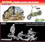 1-35-Red-Devils-x-4-with-Welbike-and-Drop-Tube-Container