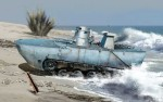 1-35-IJN-Type-2-Ka-Mi-Amphibious-Tank-w-Floating-Pontoon-Early-Production