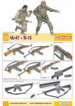 RARE-1-6-AK-47-V-M16