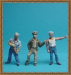 1-72-US-Navy-Gun-Crew-1943-3-figures-Set-1