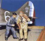 1-48-French-Pilot-and-Mechanic-WWII