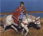 1-48-Mounted-Bavarian-Dragoon-1700-Resin