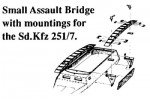 1-35-German-Small-Assult-Bridge-with-251-7-Mountings