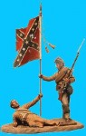 RARE-Vignette-Passing-on-colours-wounded-conf-passing-on-flag-SALE