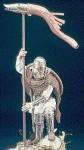 90mm-Romano-British-Cavalryman-on-foot-with-draco-Arthurian-Age