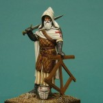 54mm-Monk-Warrior-Outremer-1st-half-of-13th-C