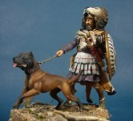 54mm-Carthaginian-Veteran-with-War-Dog-2nd-Punic-War-219-202-BC