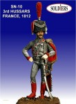 54mm-Captain-of-3rd-Hussars-France-1812