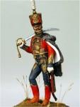 54mm-Hussar-Officer-6th-reg-France-1811