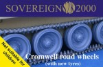 1-35-Cromwell-Challenger-road-wheels-w-new-tyres-for-Tamiya-SKP-and-Airfix-kits