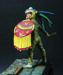 90mm-Aztec-Jaguar-Warrior