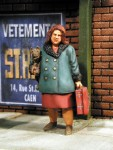 RARE-1-35-Fat-Woman-with-Suitcase-Indvidual-Refugees-SALE-