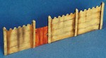 1-35-Concrete-Fence-WWII-Europe-18-Resin-Pieces