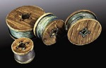 1-35-Cable-Spools-Full-1-Each-of-4-Sizes