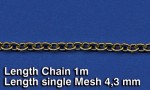 Metal-Chain-G-Length-single-Mesh-43-mm-retez