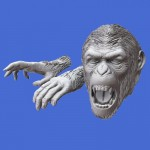 1-35-Apes-Heads-and-Hands-set