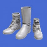 1-35-Assorted-German-soldiers-shoes-and-boots-WWII