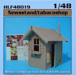 1-48-Tobacco-shop-Newsstand-resin-kit