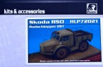 1-72-Skoda-RSO-wheeled-tractor-resin-kit