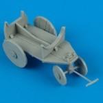 1-48-German-WW2-support-cart-for-external-fuel-tank