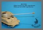 1-35-Gun-barrel-105mm-for-M51-Supersherman-TAMIYA-