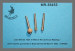 1-35-Lewis-machine-gun-barrels-3-Brass-barrels-for-Mark-IV-Male-TAKOM
