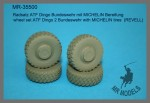 1-35-Wheel-set-ATF-Dingo-2-Bundeswehr-with-MICHELIN-tires-REVELL
