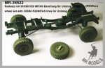 1-35-Wheel-set-with-335-80-R20MITAS-tires-for-Unimog-U1300L-REVELL