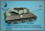 1-35-Stowage-and-gear-Achilles-Mk-II-Tank-Destroyer-TAMIYA