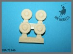 1-72-Wheel-set-ATF-Dingo-2-Bundeswehr-with-MICHELIN-tires-REVELL