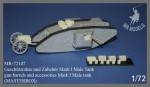 1-72-Gun-barrels-and-accessories-Mark-I-Male-tank-MASTERBOX