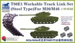 1-35-T80E1-Workable-Track-Link-Set-Steel-for-M26-M46