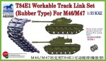 1-35-T84E1-Workable-Track-Link-Set-Rubber-for-M46-M47