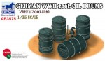 1-35-German-WWII-200L-Oil-Drums