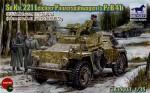 1-35-SD-Kfz-221-Armour-Car-w-P2B41-RARE