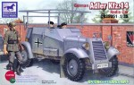1-35-GERMAN-ADLER-KFZ-14-RADIO-ARMORED-CAR-RARE