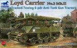 1-35-Loyd-Carrier-No-2-Mk-II-Tracked-6pdr-Gun-illustrated-on-box-NOT-included
